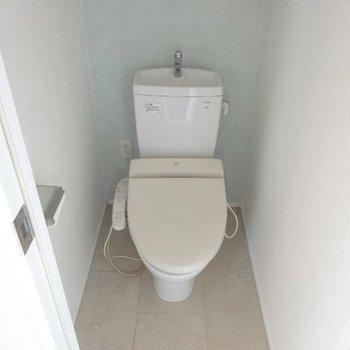 スッキリとしたトイレ※写真は前回募集時のものです
