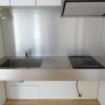 キッチンはコンパクトに二口※写真は前回募集時のものです