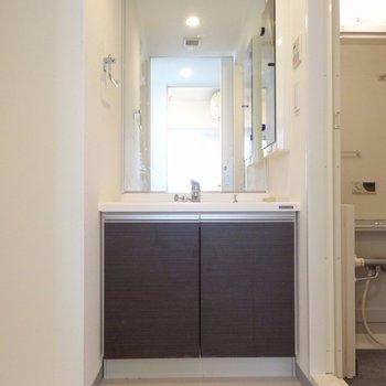 洗面台・洗濯機・お風呂スペース