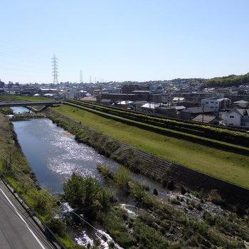 植田川リバービューも最高なんです!