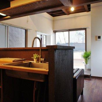 キッチンは対面式ですね! ※写真は前回募集時のものです。