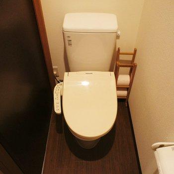 トイレは個室! ※写真は前回募集時のものです。