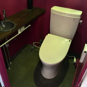 トイレが、突然の異空間!