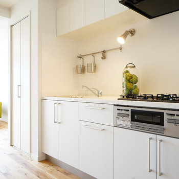 使い勝手の良いキッチン空間〇