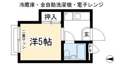 加茂川シティハウス の間取り