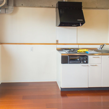 冷蔵庫などもちゃんと置けますよ。