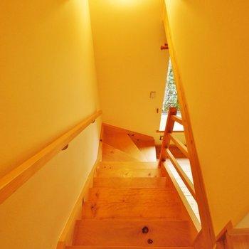 二階へいきましょう
