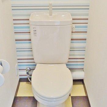 トイレの中までキマッてます※写真は前回募集時のもの。