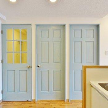 扉もとっても可愛い※写真は前回募集時のもの。