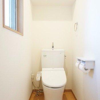 トイレがきれいだと、気分もいいですね〜