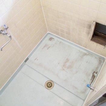 広さは十分あります※浴槽は工事中になります。