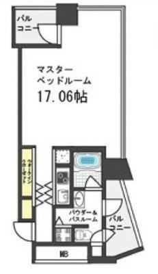 on104:ザタワー大阪レジデンス(H) の間取り