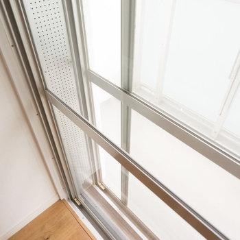 リビング・寝室の窓は2重になっていますよ♪※前回募集時の写真になります