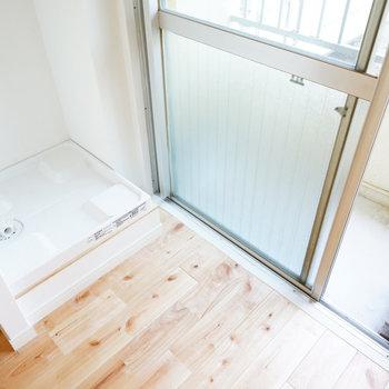 洗濯機置き場は寝室になります。※写真は前回募集時のもの