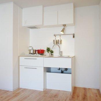 キッチンもナチュラルなデザイン※写真は前回募集時のもの