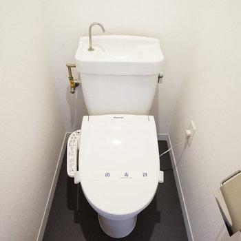 トイレはウォシュレット付き!※写真は前回募集時のもの