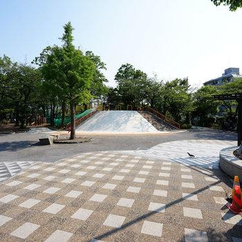 この公園を通るのが最短ルート◎※写真は前回募集時のもの