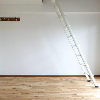 ロフトがあるので天井高めです。