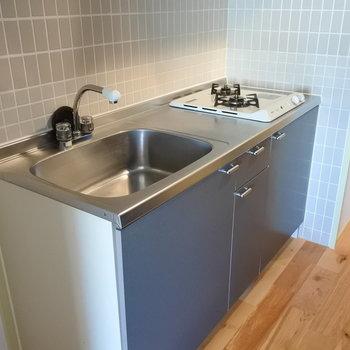 キッチンは既存ですが、2口ガス