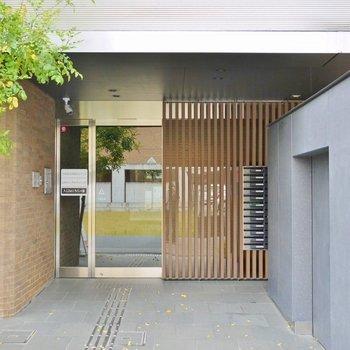 テナントと住居が同じ入り口