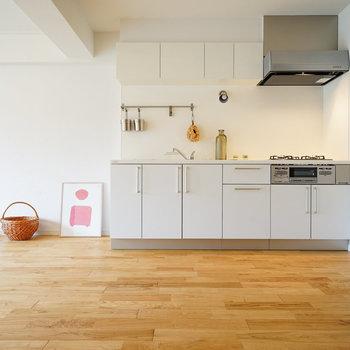 大きなキッチンで料理好きなアナタにも♪