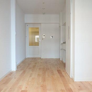 無垢床が気持ち良い空間なのです