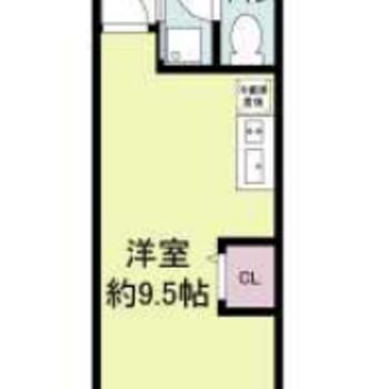 もともと1DKだったお部屋をスッキリ1Rに変更しました!