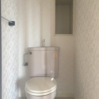 トイレはちょっとだけゆったり