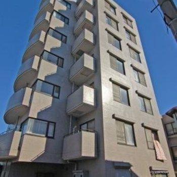 7階建ての最上階です
