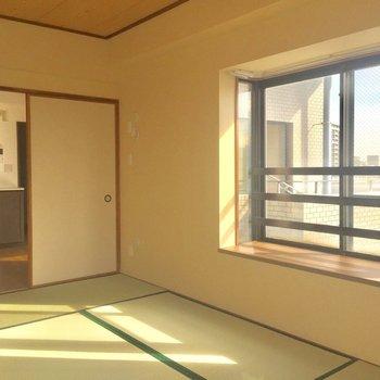 7階にある和室ってなんだかおもしろい。