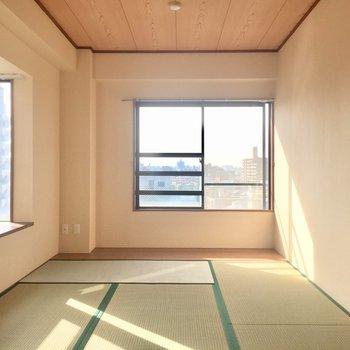 和室もかなり綺麗です〜