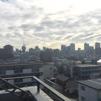 東京でみる景色とは、また違って良い。