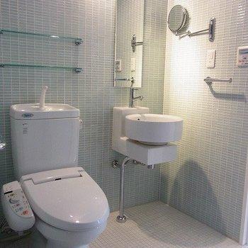 トイレ・洗面・お風呂は1室※写真は別部屋