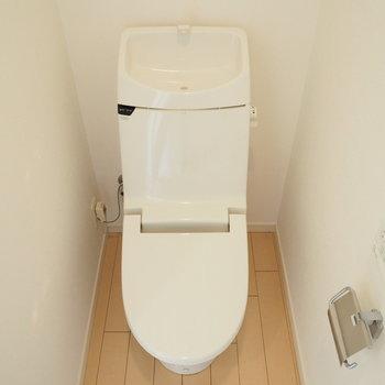 トイレは個室です!!※写真は前回募集時のお写真です。