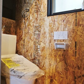 【2F】個室じゃないけどトイレにも窓です※写真は前回募集時のものです。