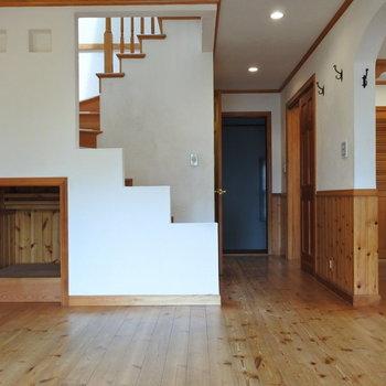 階段までキュートなんだから!