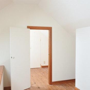 なんとロフトは全室を繋ぐことが出来ます。