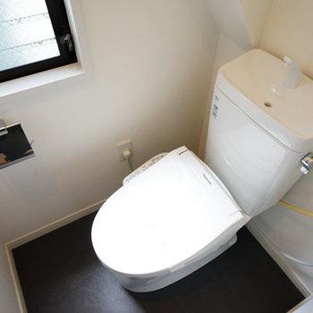 2階のトイレはこちら!