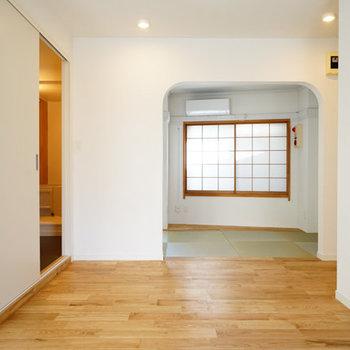 4階は和室空間もあります◎