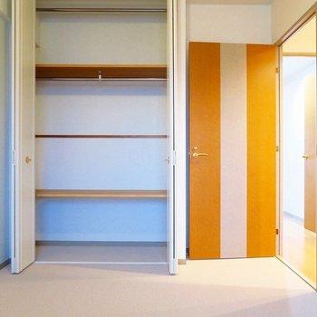 個室①収納たっぷり