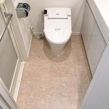 トイレと脱衣所は兼用です。