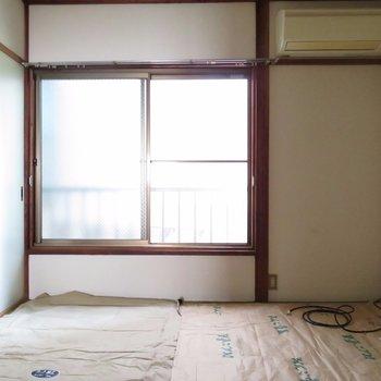 窓が大きいです〜
