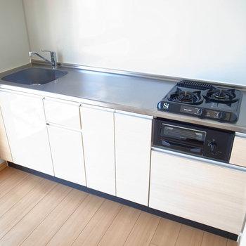 調理スペース大きいキッチン