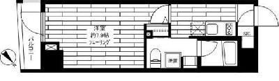 ステージファースト駒沢 の間取り