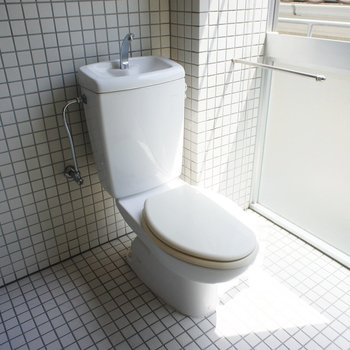 トイレもシンプルに※写真は前回募集時