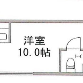 対面キッチンのあるお部屋です。
