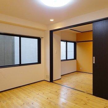 開口部の多いお部屋※写真は303号室