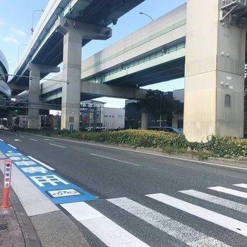 博多駅までは自転車専用道路で!安心ですね◎