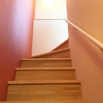 いざ3階へ