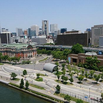 大阪一の眺望